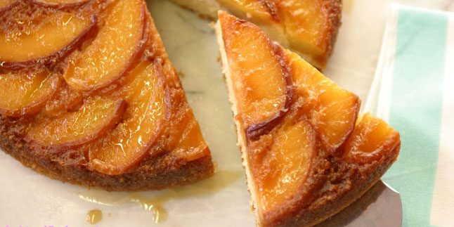 Cevizli Şeftalili Kek Tarifi – Cevizli Şeftalili Kek Nasıl Yapılır?