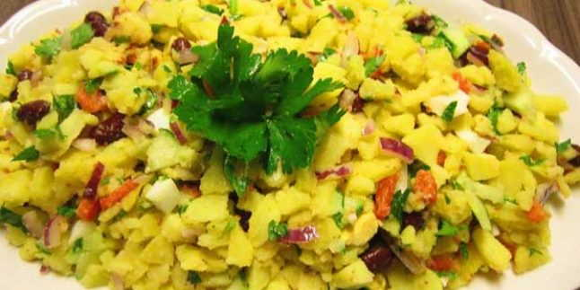 Fırında Patates Salatası Tarifi – Fırında Patates Salatası Nasıl Yapılır?