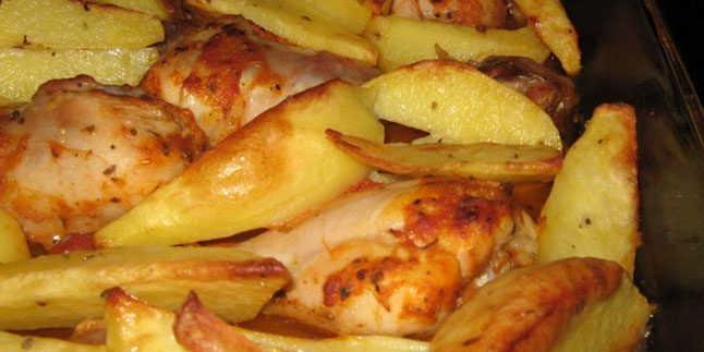 Fırında Tavuklu Patates Tarifi – Fırında Tavuklu Patates Nasıl Yapılır?