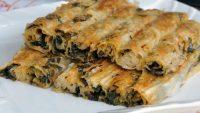 Ispanaklı Börek Tarifi – Ispanaklı Börek Nasıl Yapılır?