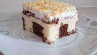 Muzlu Pudingli Pasta Tarifi – Muzlu Pudingli Pasta Nasıl Yapılır?