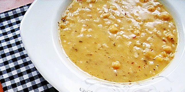 Nohutlu Tarhana Çorbası Tarifi – Nohutlu Tarhana Çorbası Nasıl Yapılır?