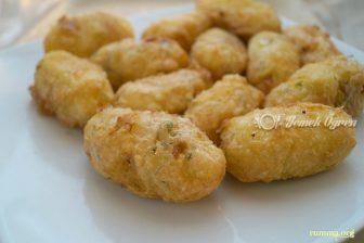 Tahinli ve Sebzeli Patates Köftesi Tarifi