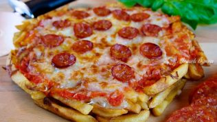 Patatesli Pizza Tarifi – Patatesli Pizza Nasıl Yapılır?