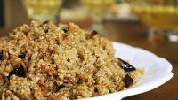 Patlıcanlı Pilav Tarifi – Patlıcanlı Pilav Nasıl Yapılır?