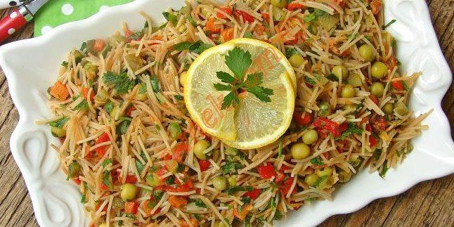 Şehriye Salatası Tarifi – Şehriye Salatası Nasıl Yapılır?
