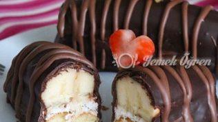 Muzlu Çikolatalı ek Tarifi – Muzlu Çikolatalı Ek Nasıl Yapılır?
