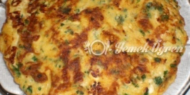 Peynirli Ispanaklı Omlet Tarifi – Peynirli Ispanaklı Omlet Nasıl Yapılır?
