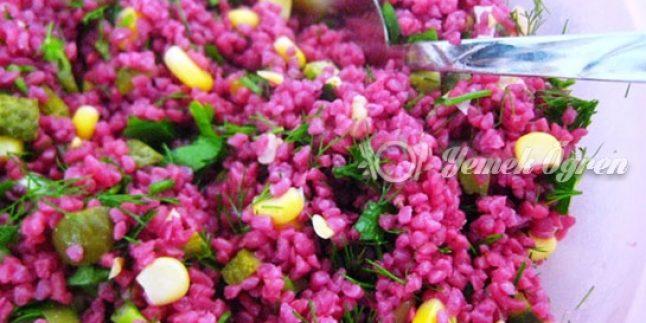 Şalgamlı Kısır Tarifi – Şalgam Kısır Nasıl Yapılır?
