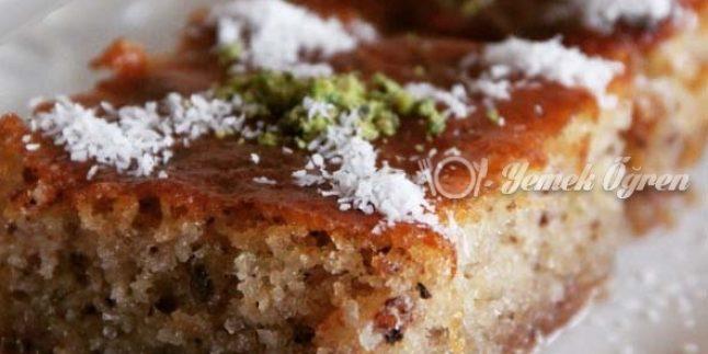 Kadayıflı Kek Tatlısı Nasıl Yapılır?