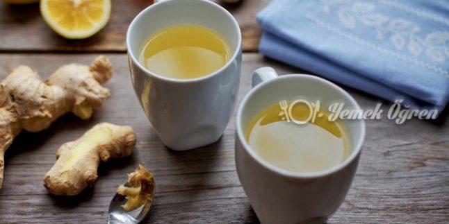 Yağ yakmak için zencefil suyu tarifi
