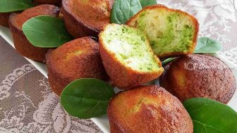 Ispanaklı Muffinler