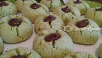 Camfistikli kurabiyeler