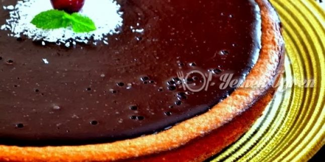 Çikolata Soslu Cheese Kek