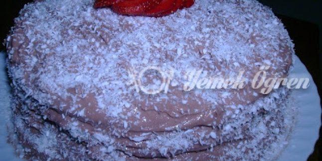 Fındıklı Çikolatalı Yaş Pasta