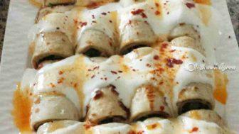 Ispanaklı Krep