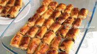 Üzümlü Cevizli Rulo Çörek