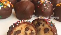 Evde 5 Dk Yapabileceğiniz Nefis Çikolatalı Top Kekler