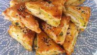 Patatesli Pratik Üçgen Börek