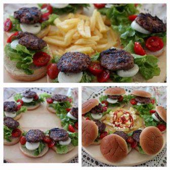 Ev Usulu Hamburger