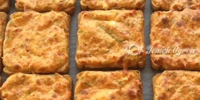 Kahvaltı için Peynirli Çedarlar
