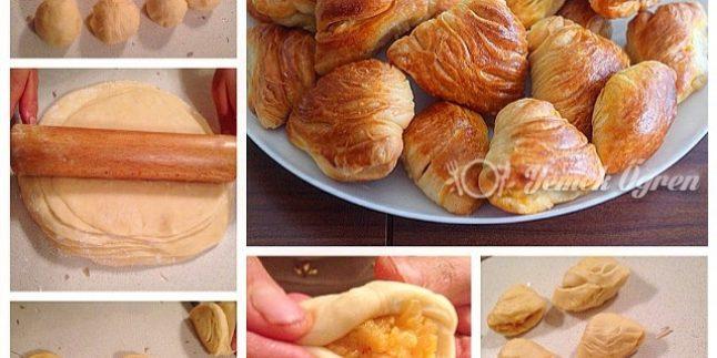 Patatesli El Açması Midye Böreği