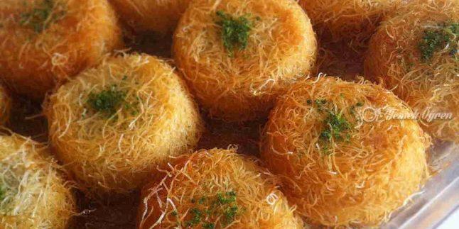 Muffin Kalıbında Kadayıf Tatlısı