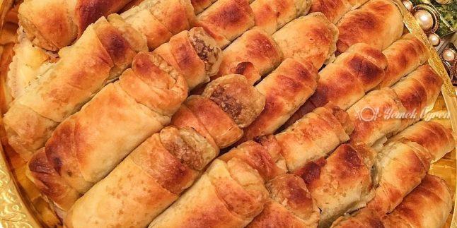 Ispanaklı kıymalı Çıtır Börek