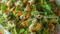 Mantılı Yeşil Salata