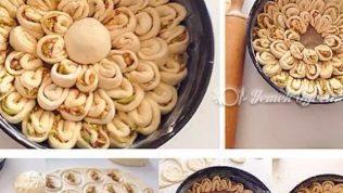 Minik Papatya Çöreği