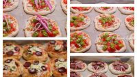 Karışık Minik Pizza