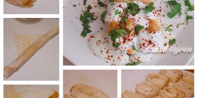 Yoğurtlu Patatesli Börek