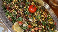 Semiz Otlu Yesil Mercimek Salatası