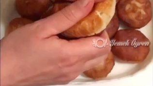 Sucuklu Peynirli Puf Ekmekler