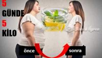 5 Günde 5 Kilo Verdiriyor ! Karın Yağlarını Eritiyor