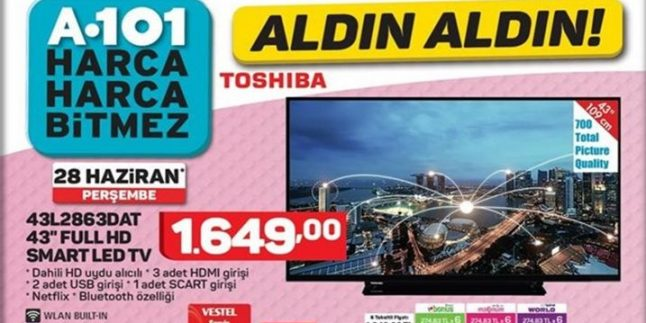 A101 28 Haziran 2018 Aktüel Kataloğu
