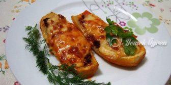 Mantarlı Sandal Kebabı Tarifi