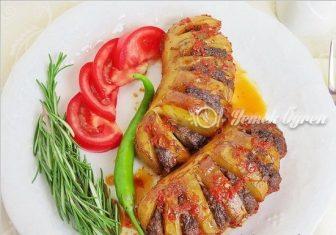Yelpaze Patates Kebabı Tarifi