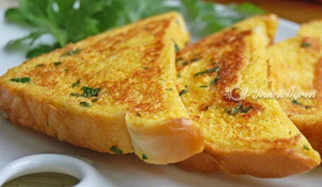 Sucuklu Yumurtalı Ekmek Tarifi