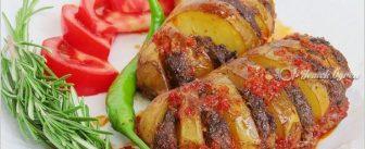 Fırında Kıymalı Patates Tarifi
