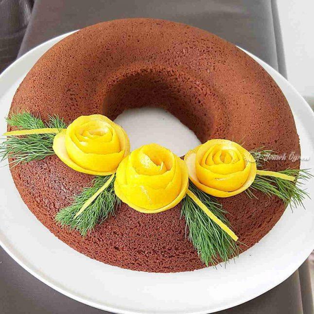 limonlu ve kremsantili kek