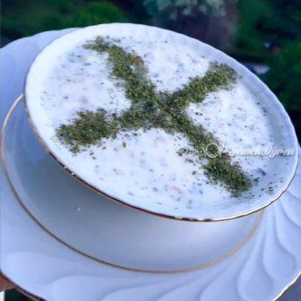 Soğuk Yoğurtlu Çorba