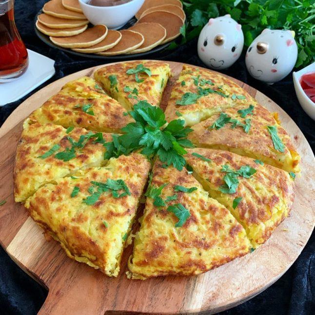 Kahvaltılık Tavada Patates Böreği Tarifi
