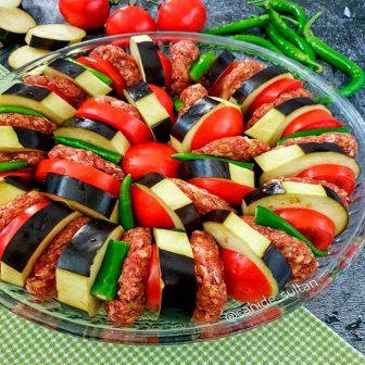 Kolay Patlıcan Kebabı Tarifi