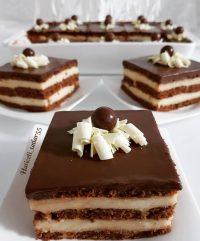 Kremalı Bisküvili Pasta Tarifi