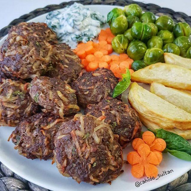 Kıbrıs Köftesi (Patates Köftesi)