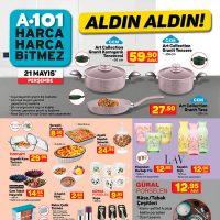 A101 Aldın Aldın 21 Mayıs 2020 Perşembe Aktüel Kataloğu