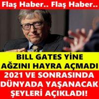 BİLL GATES'İN AÇIKLAMASI