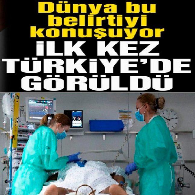 Tüm Dünya Bunu Konuşuyor  İlk kez Türkiye'de tanı koyuldu