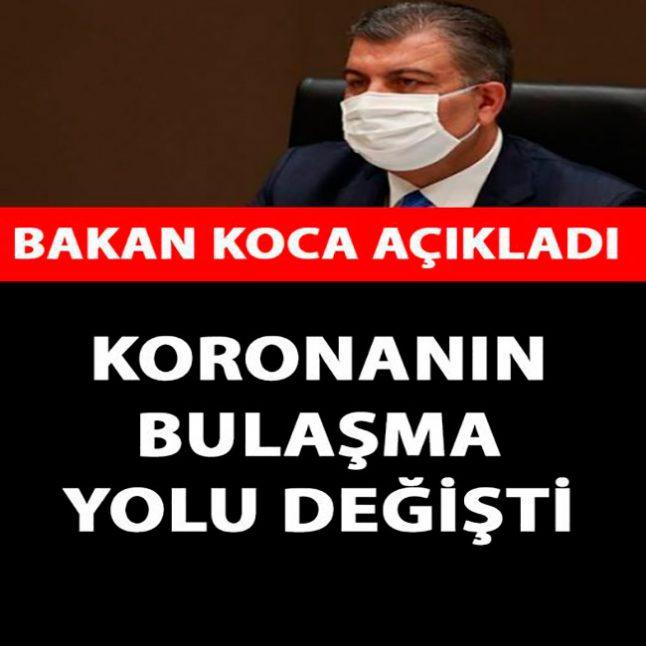 Sağlık Bakanı Koca'dan ACİL DURUM Uyarısı!